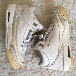 "Jordan 3 Retro (gs) ""pure"" Shoes"